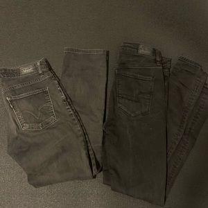 Women's black Jean bundle